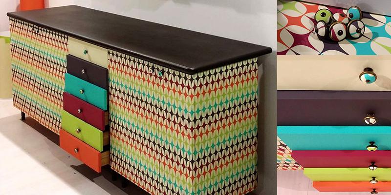 Esempi di wrapping interior su arredi by Comunic@ agenzia di comunicazione Cagliari Sardegna