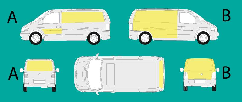 Esempi di car wrapping su carrozzeria automezzi commerciali by Comunic@ Cagliari Sardegna